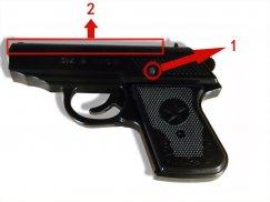 如何正确使用64枪式催泪防暴器