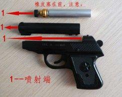 怎么使用64枪式催泪防暴器